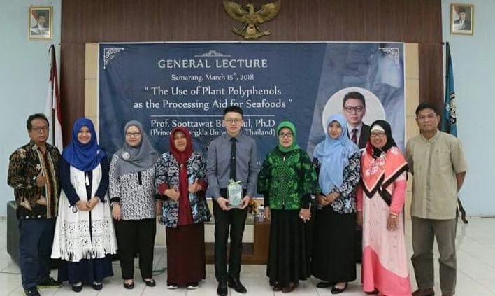Kuliah Umum Prof. Soottawat Benjakul, Ph.D