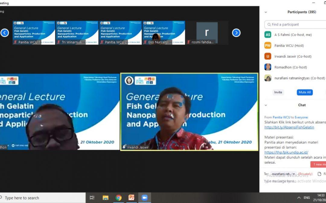 Kuliah Umum Online Prof. Dr. Irwandi Jaswir (Bagian 1)
