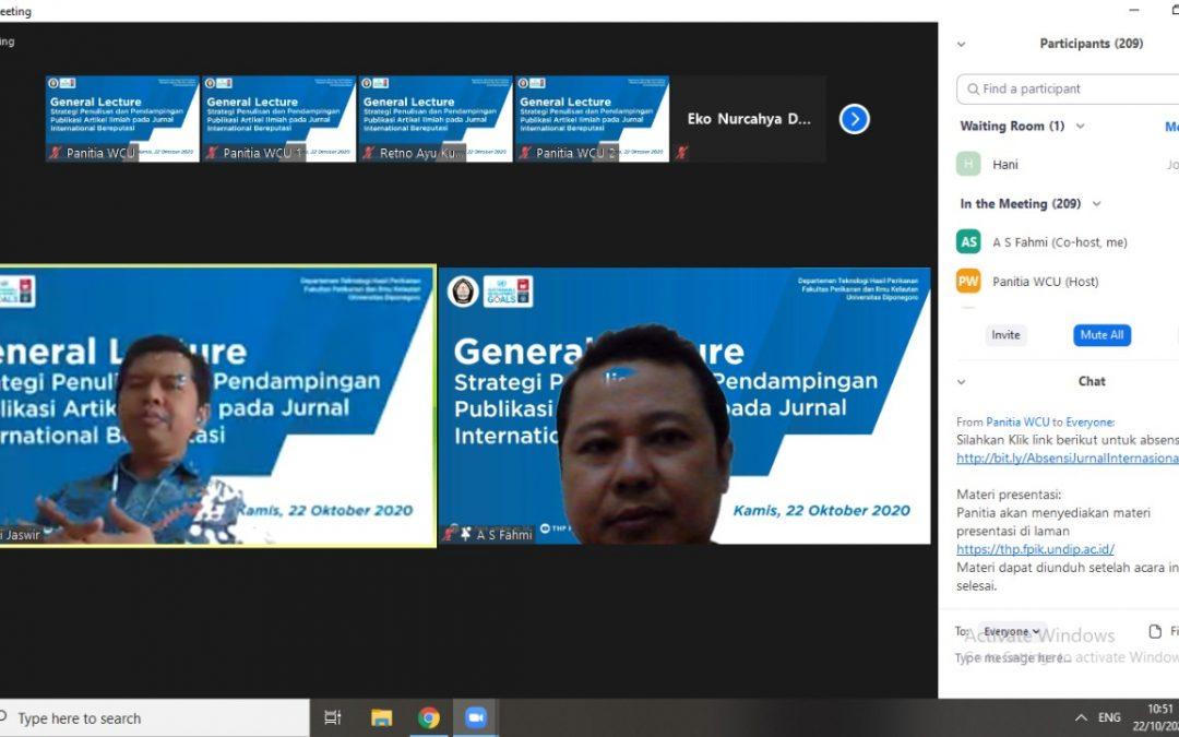 Kuliah Umum Online Prof. Dr. Irwandi Jaswir (Bagian 2)