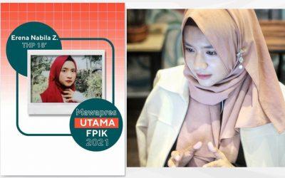 The Main Outstanding Student of FPIK UNDIP